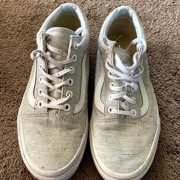 Vans Speckle Jersey Old Skool Grey
